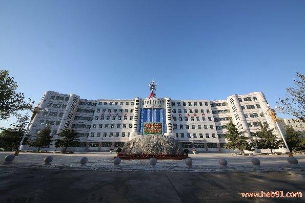 河北商贸学校主教学楼